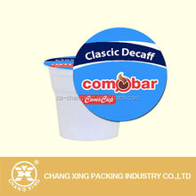 Easy open peel able lidding film for plastic cup container