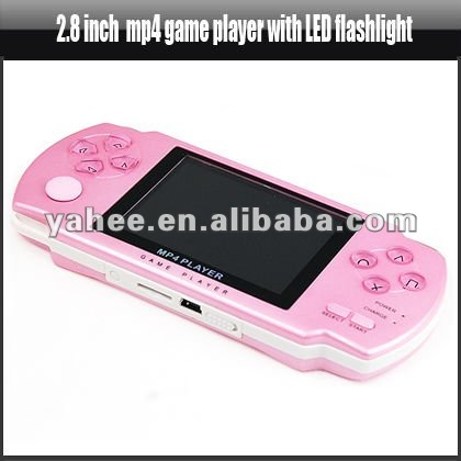 2.8 inch Mp4 Game Player with LED Flashlight, YMP201A