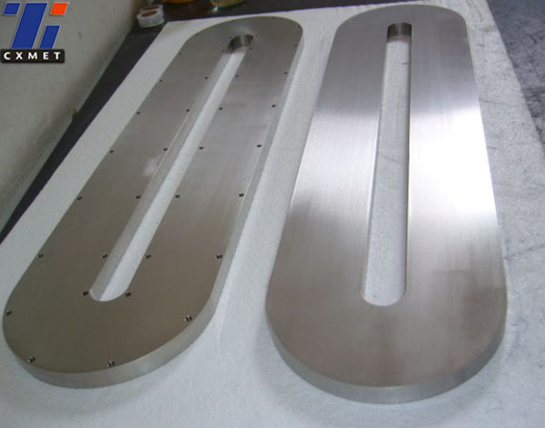 Gr1 Ti(99.7%) forged sheet target for vacuum coating