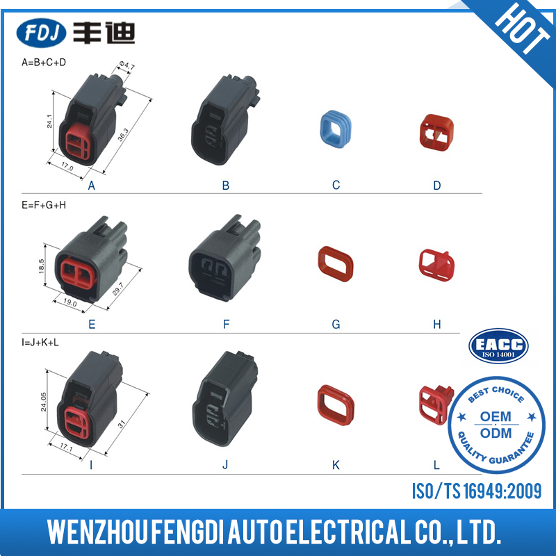 Factory Directly Provide Harting Connector