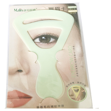 wholesale eyebrow stencil dropship eyebrow template eyebrow stencil shaping