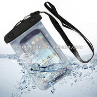 China Manufacture High Quality PVC mobile phone pvc waterproof bag, for S3 Waterproof bag with Armband