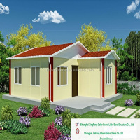 Shanghai made 2 bedrooms prefab house design