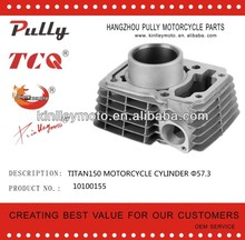 TITAN150 Motorcycle Cylinder with head Cylinder for motorcycle engine spare parts