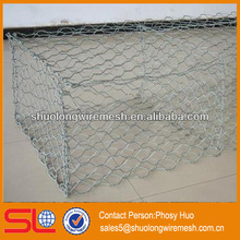 Gabion mesh basket,hexagonal gabion mesh box,wire cages rock retaining wall