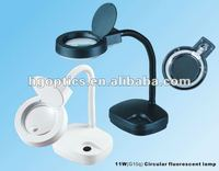 desk magnifier lamp/led desk lamp/magnifying lamp beauty