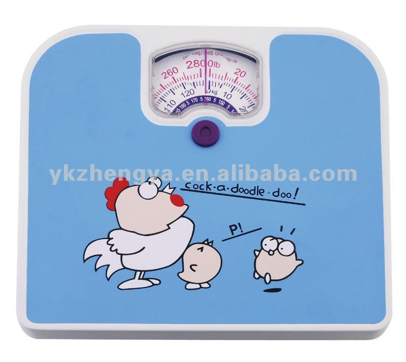personal mechanical electronic bathroom body weight scale