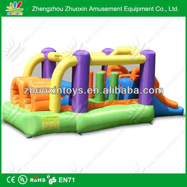 big house inflatable bouncer with free repair kits, inflatable bouncer