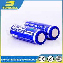 Eunicell alkaline 1.5V LR6 size AA AM3 dry battery no mercury