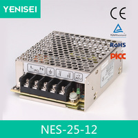 Plastic 12v 25w led switching power supply