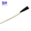 Rated temperature 200degree 12k 33ohm/m carbon fiber silicone heating cable wire