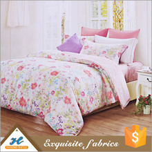 best sales bedsheet 100% polyester fabric roll chinese upholstery printed fabric