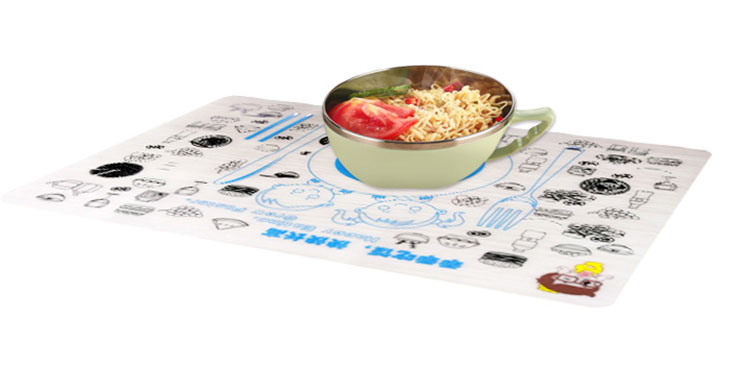 100% Food grade silicone drawing mat silicone doodle placemat for kids