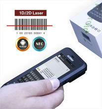 rugged pda android PDA 2D barcode laser scanner IP65 / NFC / UHF RFID from China industry barcode scanner handheld terminal