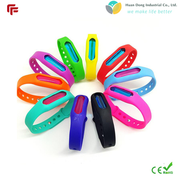 2017 Hot sale newest silicone mosquito repellent bracelet