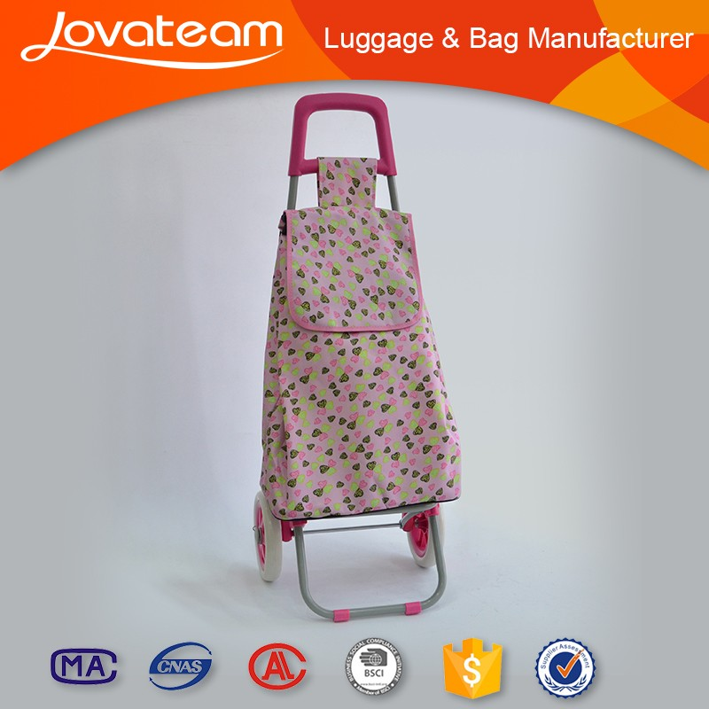 2016 Factory Best Selling good quality trolley wheels plastic shopping bag