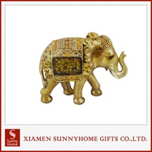 Home Decoration Products mini resin Elephant Sculpture