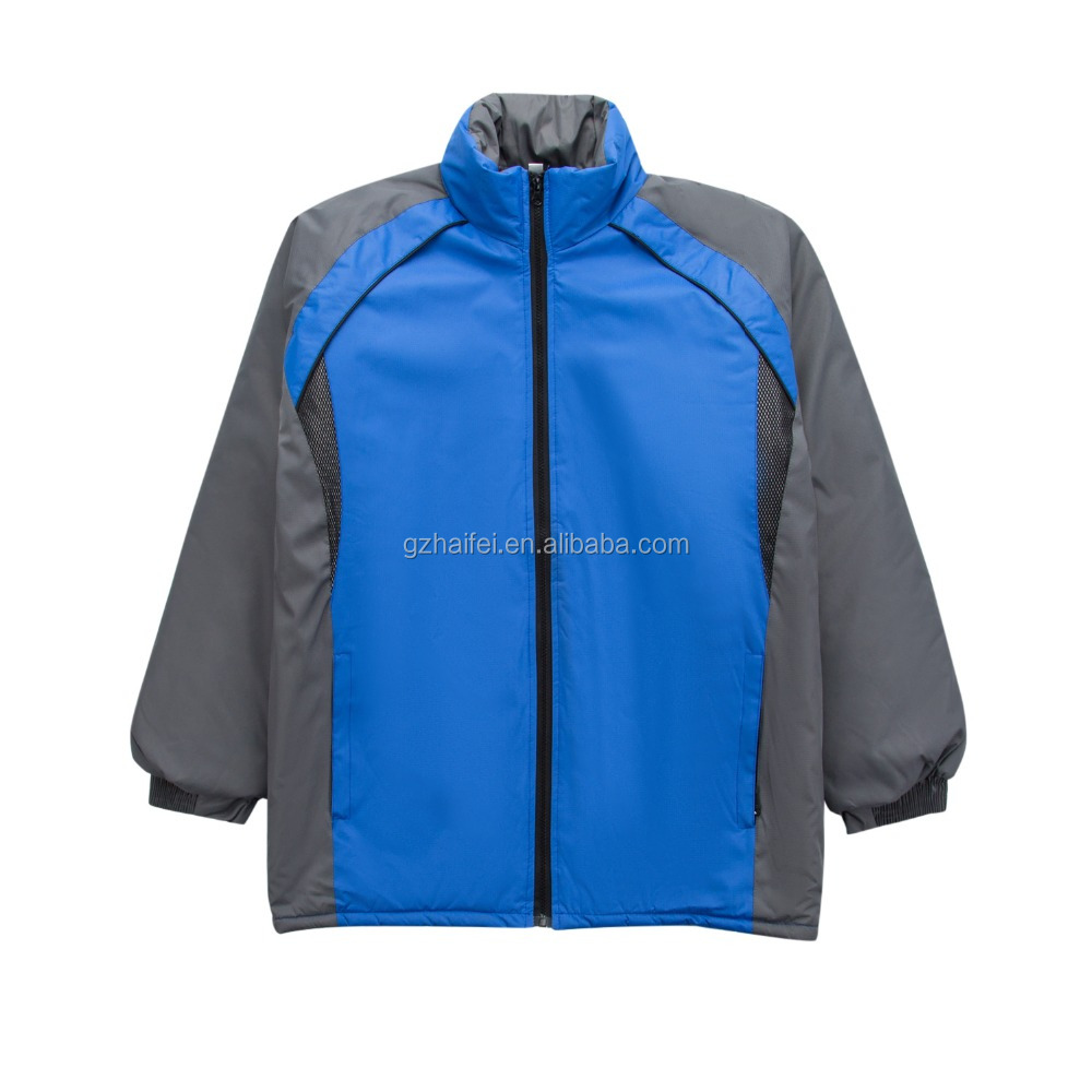 Double layer wind proof warm jacket