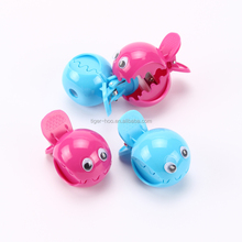 Fancy Cartoon Fish Mouth Pencil Sharpener with Tail Clip, Chic Clip Mouth of Fish Pencil Sharpener, Fish Pencil Sharpener Clip