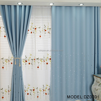 High quality newset design home textile window curtain for room decoration