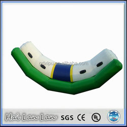 2015 newest inflatable games water seesaw water floating toys for sale
