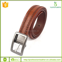 Hot Sale Mens Genuine Leather Business Belt