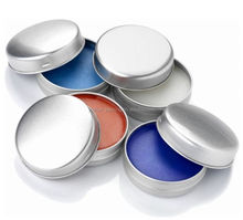 1oz round aluminum lip balm slide tin