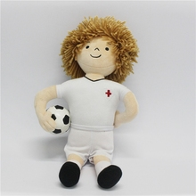 Promotional World Cup Gift Football Player Plush Toy Soft Stuffed toy