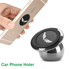 Cabraun C01 Universal Magnetic Car Mobile Phone Holder 360 Degree Rotation Magnet Car Cell Phone Mount Stand