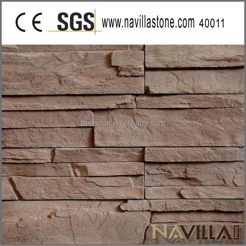 Chapa de madera artificial piedra revestimiento de la - Revestimiento piedra artificial ...