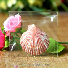 Custom highly transparent plastic bag for exquisite gifts