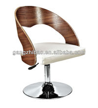 fashion design chair wholesale relaxing chrome bendwood office chair Relaxsessel buro stuhl AB-502