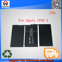 Hotsales! Tablet Battery For iPad 2 Wi-Fi 16GB,32GB,64GB, A1316 A1376 A1395 A1396 A1397(P/N 616-0559,616-0561 ) Free Shipping