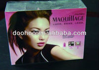 Cosmetic plastic packaging boxes