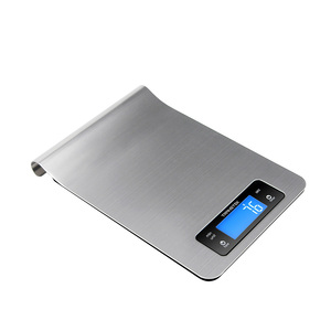Accurate Stainless Steel Electronic Kitchen Scale with Unique Hook Design