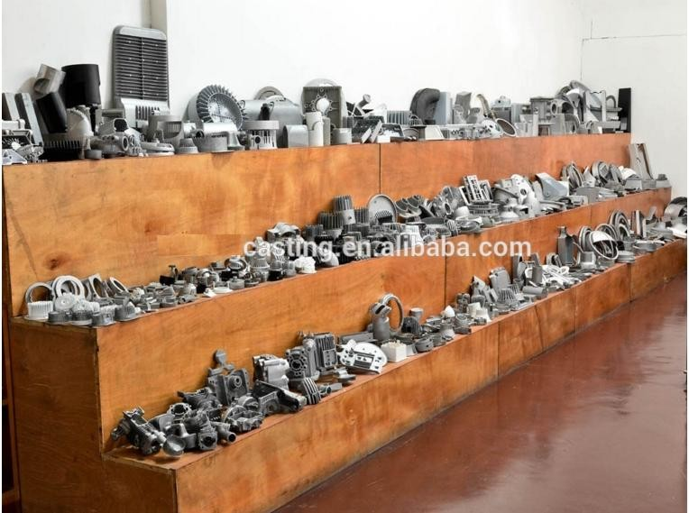 Customized die casting Aluminum auto parts, engine housing, gearbox shell