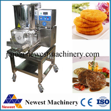 Pork meat pie molding machine.moulding machine/burger patty making machine