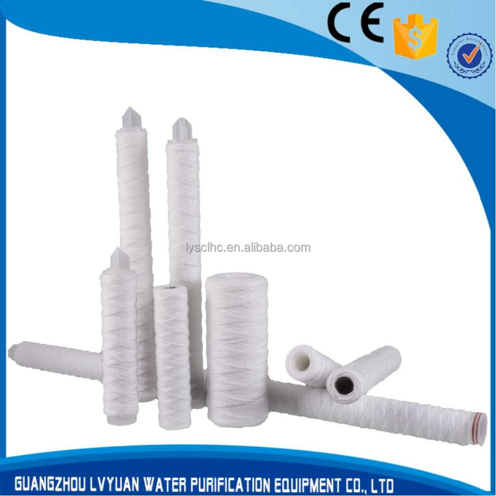 40 inch 5 micron PP yarn water filter cartridge filters