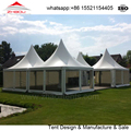 waterproof 5x5m outdoor event tent with clear sidewall for sale