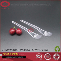 Disposable Plastic Fork Healthy Food Grade High Quality PP Material Tableware