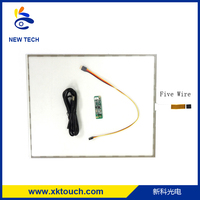 Hot Selling 8 wire resistive touch screen / touch screen solutions