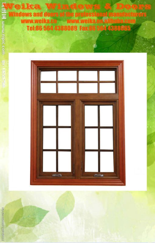 casement wooden steel framed windows