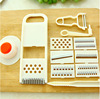 Hot sale magic multifunctional vegetable cutter slicer peeler chopper for home use