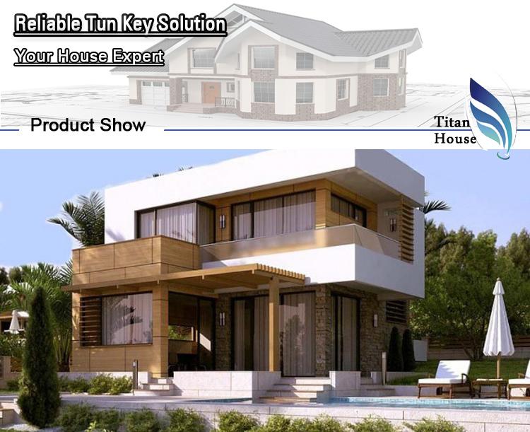 Flat Roof Earthquake Proof Modular Prefabricated Small