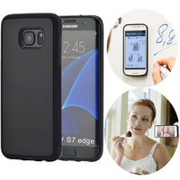 AntiGravity Phone Case For samsung galaxy S5 S6 S7 edge S8 plus Magical Anti gravity Nano Suction Cover Adsorbed Cases