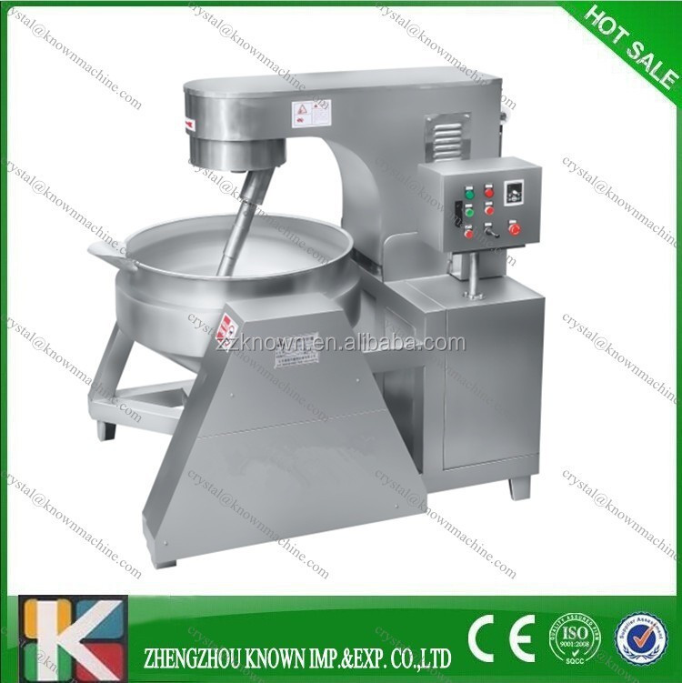 industrial steam jacketed cooker/industrial steam cooker with good after-sales serve
