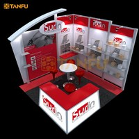 10x10 or 3x3 Expo Stand Booth with Free Design (Rental Available)