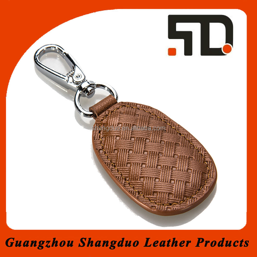 Aliabab China Suppliers Leather Car Key Ring wholesale Key Fob