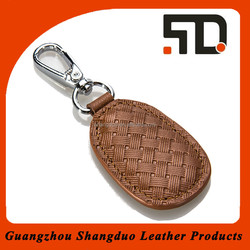 Aliabab China Suppliers Leather Car Key Ring Wholeasle Key Fob