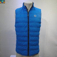 Design your own custom wholesale cotton vest for winter/waxed cotton vest/reversible jersey